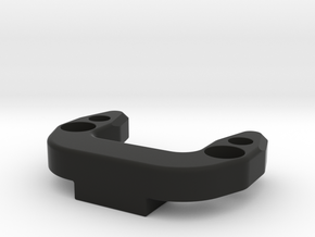 Anti-roll Bar Mounting Brace (B6, B6D) in Black Natural Versatile Plastic