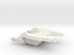 3125 Scale LDR Fleet Battle Tug CVN in White Natural Versatile Plastic
