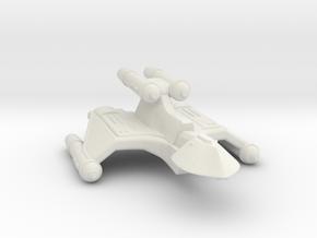 3788 Scale Romulan FireHawk-K+ Heavy Cruiser MGL in White Natural Versatile Plastic
