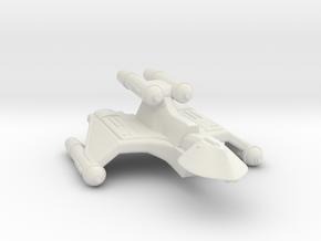 3125 Scale Romulan FireHawk-K+ Heavy Cruiser MGL in White Natural Versatile Plastic