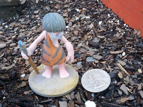 Urg full-color miniature statue in Full Color Sandstone