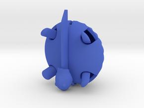 Swirl in Blue Processed Versatile Plastic