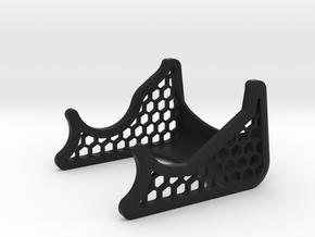 Tri-V/ Spy 007 flashlight stand stand, Honeycombed in Black Natural Versatile Plastic