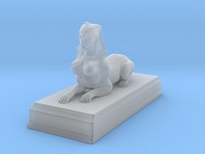 Sphinx Statue 5cm in Smooth Fine Detail Plastic