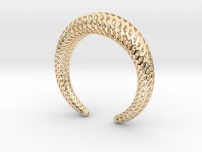 DRAGON Structura, Bracelet. Strong, Bold. in 14K Yellow Gold: Medium