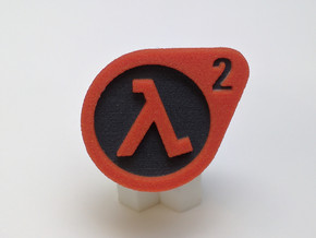 Half Life ® Token: Paragon in Full Color Sandstone