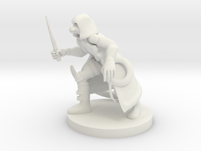 Catfolk Shadow Sorceress in White Premium Versatile Plastic