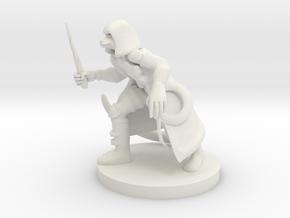 Catfolk Shadow Sorceress in White Premium Versatile Plastic