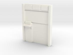 Medical Pod in White Processed Versatile Plastic