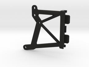106001-01 Blitzer UpperChassis Brace in Black Natural Versatile Plastic