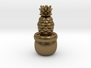 Little Pineapple in Natural Bronze