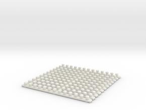 smaller turbo strips   in White Natural Versatile Plastic