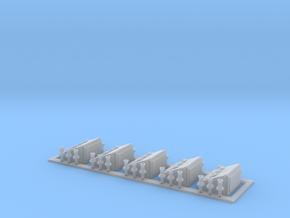 E-Anschlusskasten 5 Stück in Smooth Fine Detail Plastic