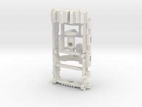 Graflex2.0 - OLD Master Chassis - Part7 Soundboard in White Natural Versatile Plastic