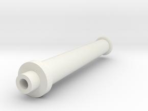 Gauge 3 Neilson brake stand in White Natural Versatile Plastic