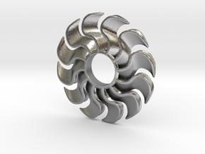 Fidget Turbofan in Natural Silver
