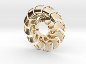 Fidget Turbofan in 14K Yellow Gold