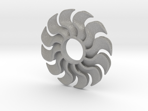 Fidget Turbofan in Aluminum
