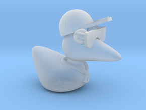 The Cool Duck in Smooth Fine Detail Plastic