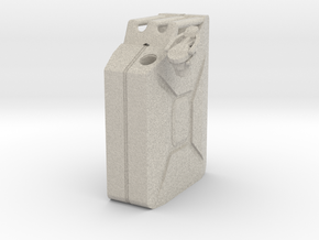 NATO 20L Jerry Can 1/10 Scale in Natural Sandstone