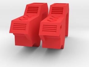 POTP Rodimus Prime or Unicronus shoulder filler in Red Processed Versatile Plastic