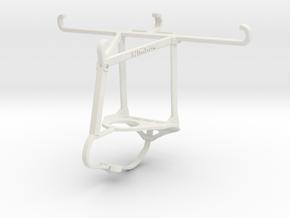 Controller mount for Nimbus & Apple iPhone 6 - Top in White Natural Versatile Plastic