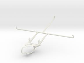 Controller mount for Nimbus & Apple iPad Air - Fro in White Natural Versatile Plastic