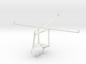 Controller mount for Nimbus & Apple iPad Air 2 - T in White Natural Versatile Plastic