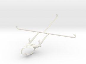 Controller mount for Nimbus & Apple iPad 3 Wi-Fi + in White Natural Versatile Plastic