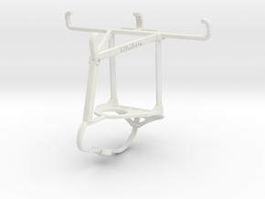 Controller mount for Nimbus & Apple iPhone 4S - To in White Natural Versatile Plastic