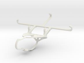 Controller mount for Nimbus & Apple iPhone 6s - Fr in White Natural Versatile Plastic
