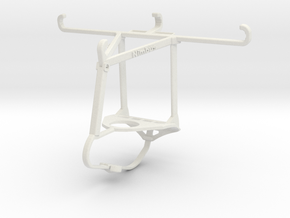 Controller mount for Nimbus & Apple iPhone 6s - To in White Natural Versatile Plastic