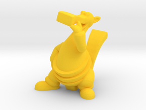 Bic Figurine in Yellow Strong & Flexible Polished: Large