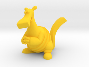 Bac Figurine in Yellow Processed Versatile Plastic: Large