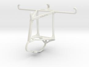 Controller mount for Nimbus & Apple iPhone 7 - Top in White Natural Versatile Plastic