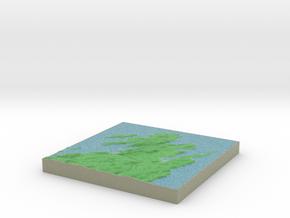 Terrafab generated model Mon Feb 05 2018 06:33:19  in Full Color Sandstone