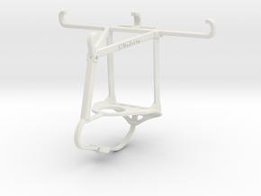 Controller mount for Nimbus & Apple iPhone SE - To in White Natural Versatile Plastic