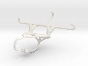 Controller mount for Nimbus & Apple iPhone SE - Fr in White Natural Versatile Plastic