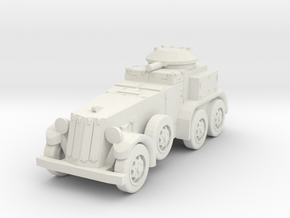 1/144 M1 (T9) armored car in White Natural Versatile Plastic