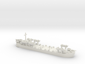 1/600 LST MkII Early 6x LCVP in White Natural Versatile Plastic