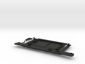 Tailgate real bumper kit pickup D90 D110 RC4WD in Black Natural Versatile Plastic