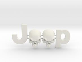 #CuzitsCustom Wicked Skulls (SM-OEM) in White Premium Versatile Plastic