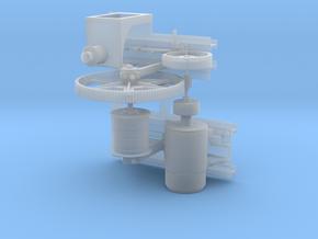 Crane Motor  in Smooth Fine Detail Plastic
