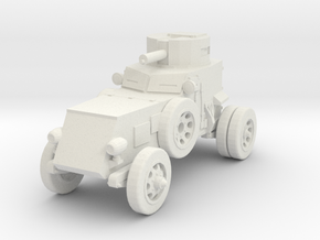 1/144 Franklin T7 armored car in White Natural Versatile Plastic