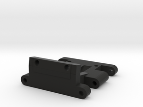 AXIAL YETI LOWER DIFF MOUNT in Black Natural Versatile Plastic