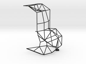 1/32 Mid section rod structure in Black Premium Versatile Plastic