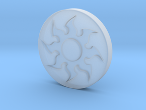 Plains Token in Smooth Fine Detail Plastic
