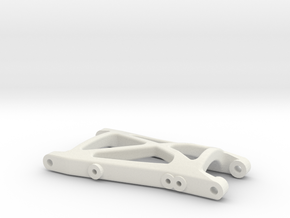 losi xx cr rear right suspension arm in White Natural Versatile Plastic