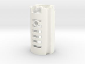 MPP2.0 - Part 4/10 - BoardHolder (Prizm V5.1) in White Strong & Flexible Polished