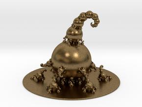 Jk Fractal Bulb  in Natural Bronze